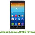 Lenovo A890E Firmware