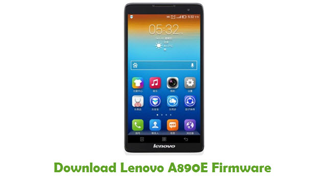 Download Lenovo A890E Firmware