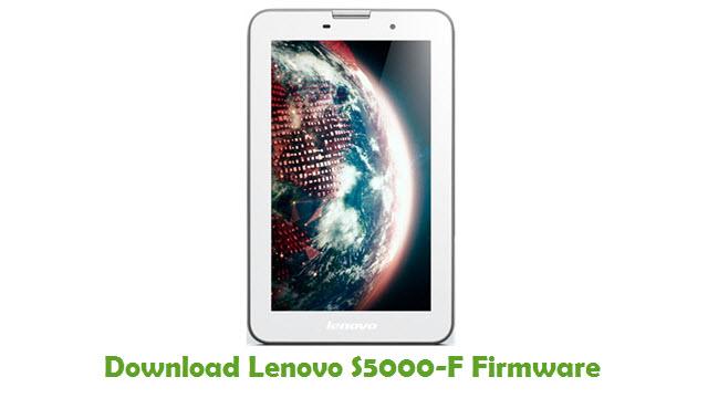 Lenovo S5000-F Stock ROM