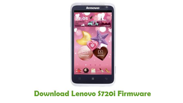 Download Lenovo S720i Firmware
