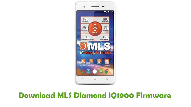 MLS Diamond iQ1900 Stock ROM
