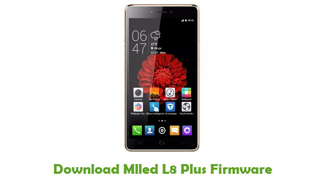 Mlled L8 Plus Stock ROM