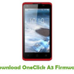 OneClick A3 Firmware