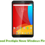 Prestigio Nova Windows Firmware
