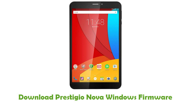 Prestigio Nova Windows Stock ROM
