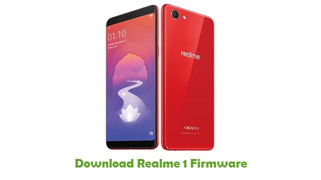 Realme 1 Stock ROM