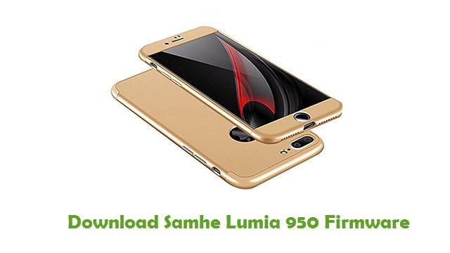 Samhe Lumia 950 Stock ROM