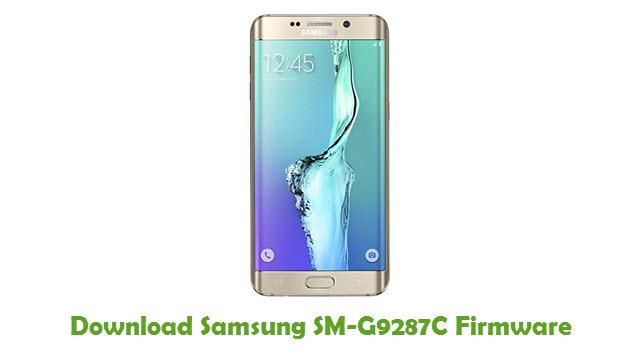 Download Samsung SM-G9287C Stock ROM