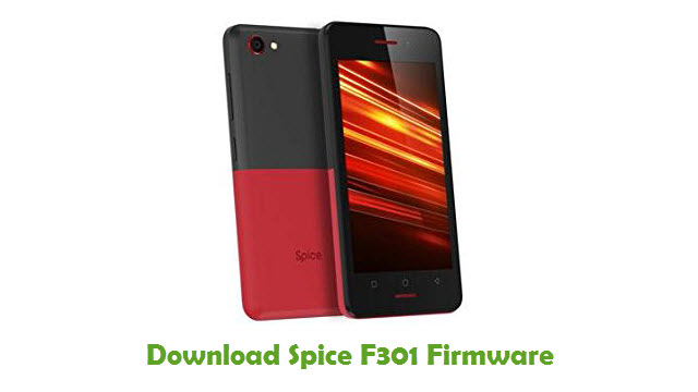 Download Spice F301 Firmware