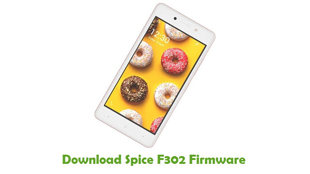 Download Spice F302 Firmware