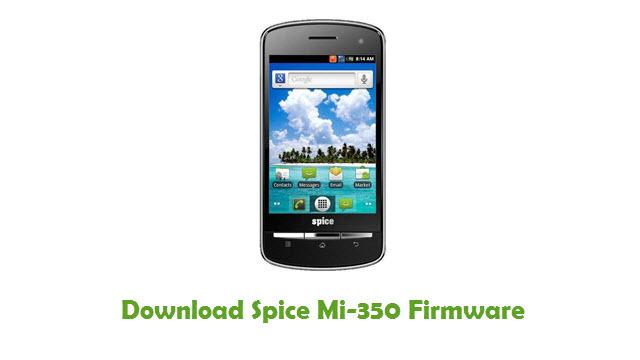 Download Spice Mi-350 Firmware
