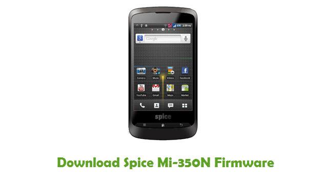 Download Spice Mi-350N Firmware