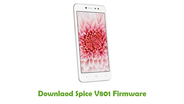 Download Spice V801 Firmware