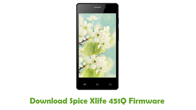 Download Spice Xlife 451Q Firmware