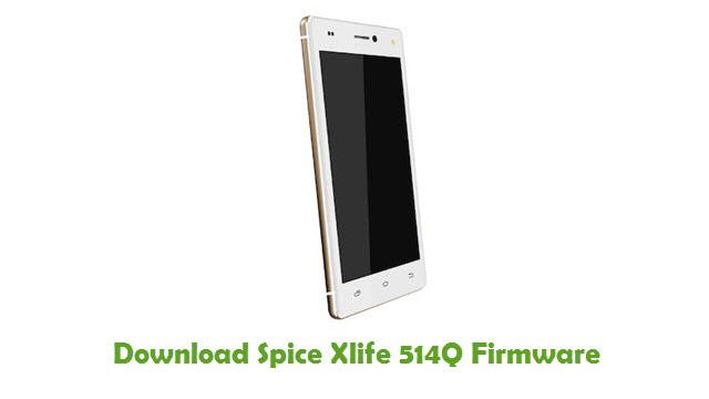 Download Spice Xlife 514Q Firmware