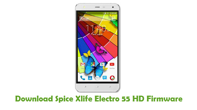 Download Spice Xlife Electro 55 HD Stock ROM