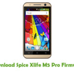Spice Xlife M5 Pro Firmware