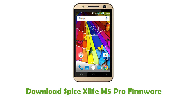Download Spice Xlife M5 Pro Firmware