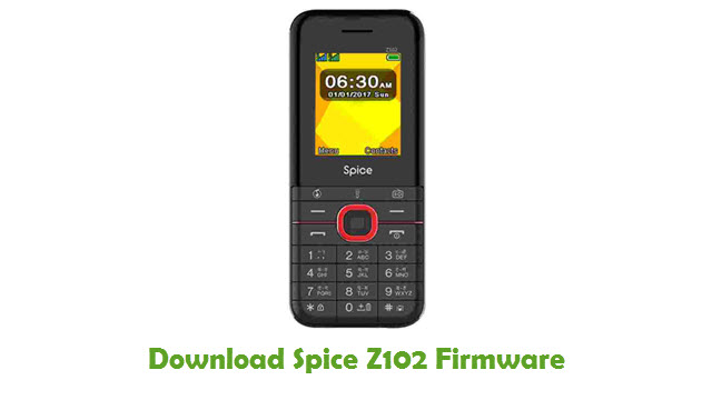 Download Spice Z102 Firmware