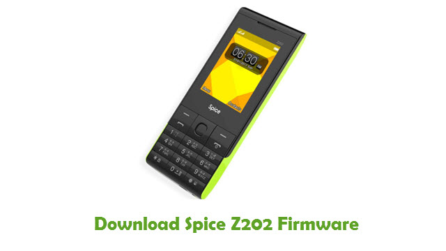 Download Spice Z202 Firmware