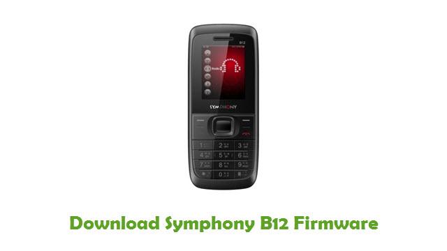 Download Symphony B12 Firmware