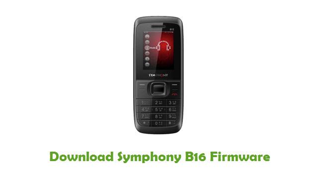 Download Symphony B16 Firmware
