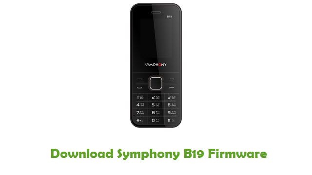 Download Symphony B19 Firmware