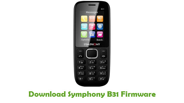 Download Symphony B31 Firmware