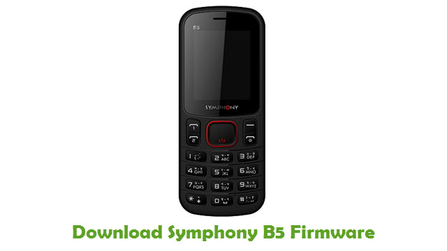 Download Symphony B5 Firmware