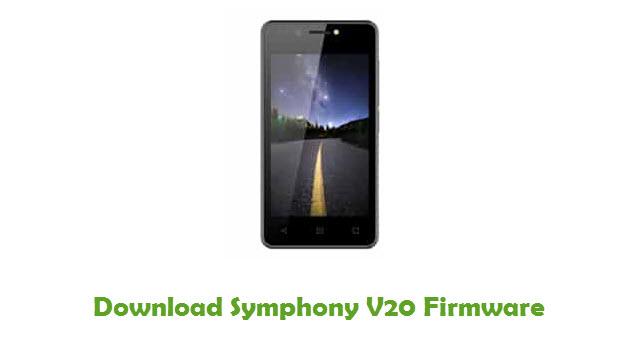 Symphony V20 Stock ROM
