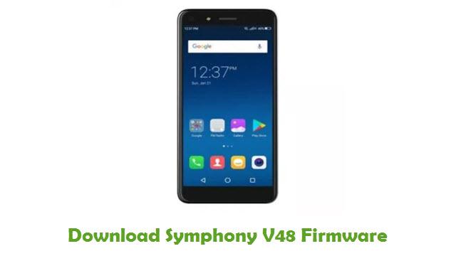 Symphony V48 Stock ROM