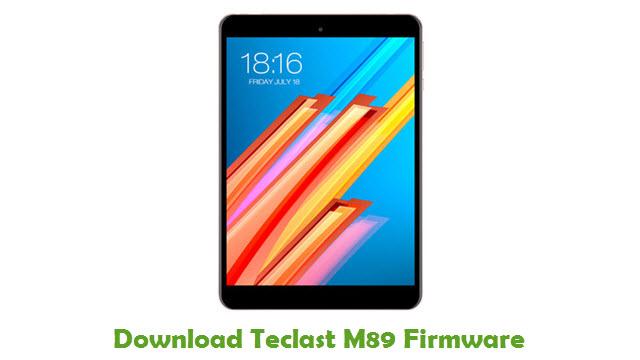 Teclast M89 Stock ROM