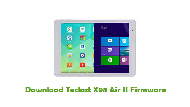 Teclast X98 Air II Stock ROM