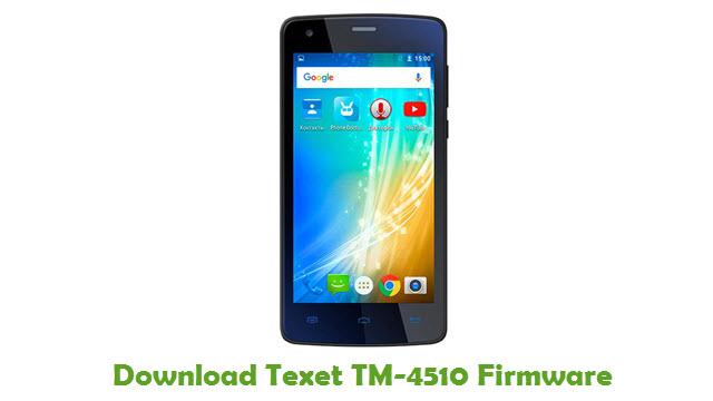 Texet TM-4510 Stock ROM