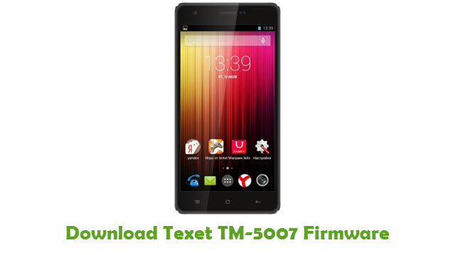 Texet TM-5007 Stock ROM