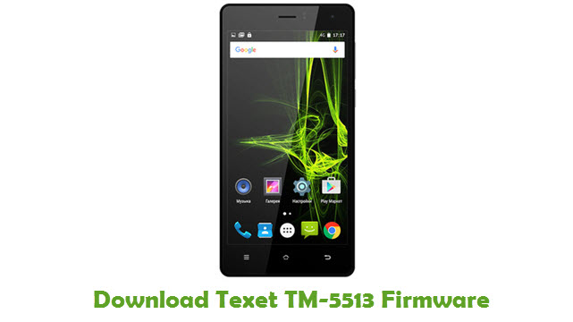 Texet TM-5513 Stock ROM