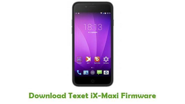 Texet iX-Maxi Stock ROM