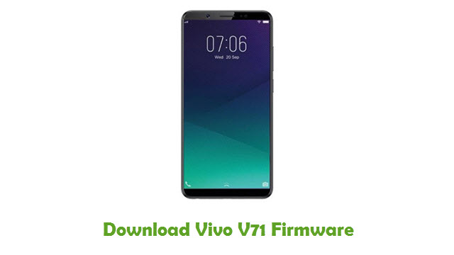 Download Vivo V71 Firmware