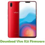 Vivo X21 Firmware