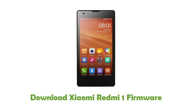 Download Xiaomi Redmi 1 Firmware