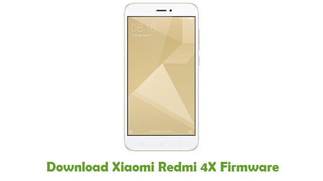 Download Xiaomi Redmi 4X Firmware