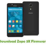 Zopo 3X Firmware
