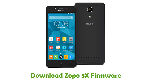 Download Zopo 3X Firmware