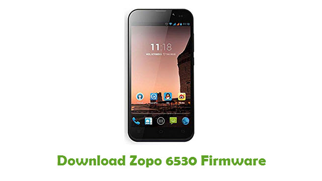 Download Zopo 6530 Firmware