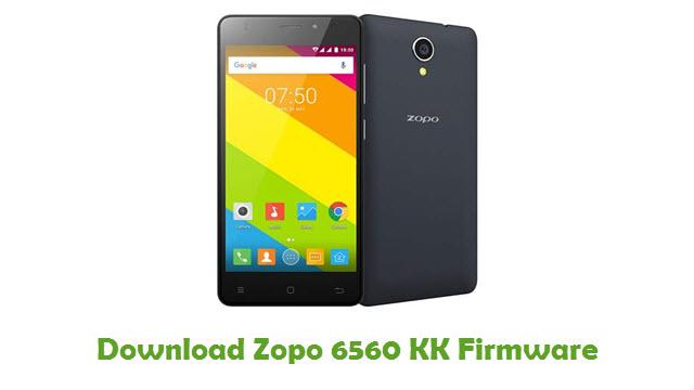 Download Zopo 6560 KK Firmware