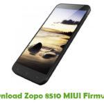 Zopo 8510 MIUI Firmware