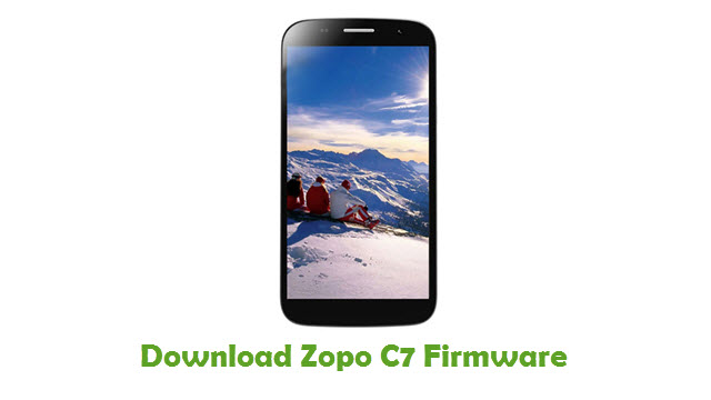 Download Zopo C7 Stock ROM