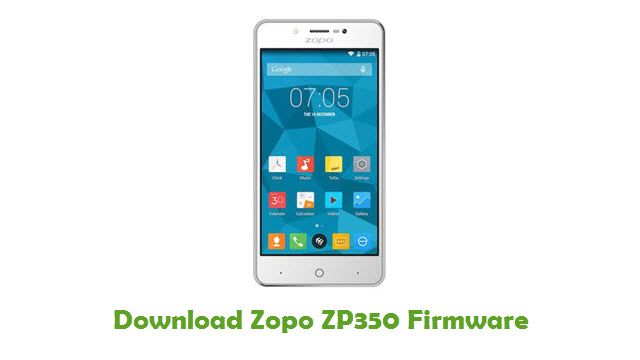 Download Zopo ZP350 Firmware