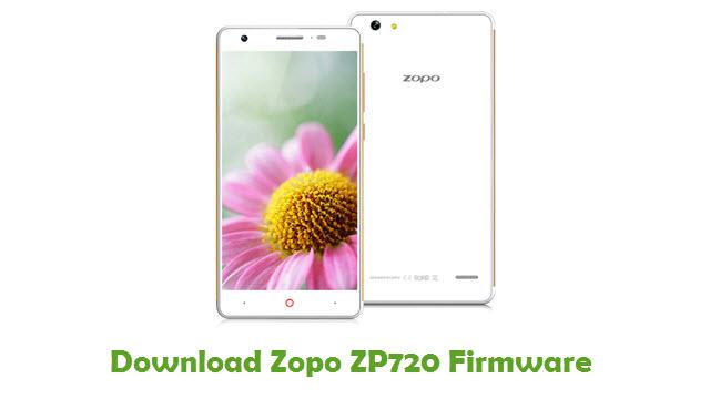 Zopo ZP720 Stock ROM