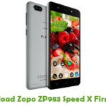 Zopo ZP983 Speed X Firmware